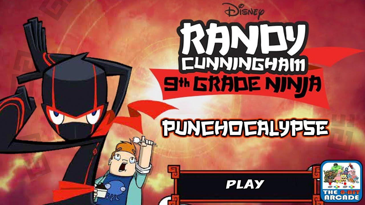 Randy Cunningham: 9th Grade Ninja - PUNCHOCALYPSE (Disney Games)