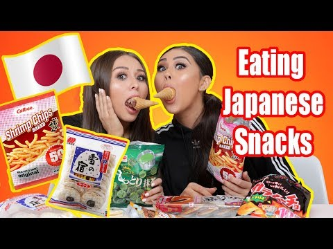 Trying Japanese Snacks | Yes Hipolito
