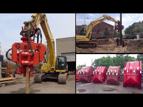 Pile Driving Equipment, Foundation Drilling Equipment, Dredging Equipment. Rental Or Sale.