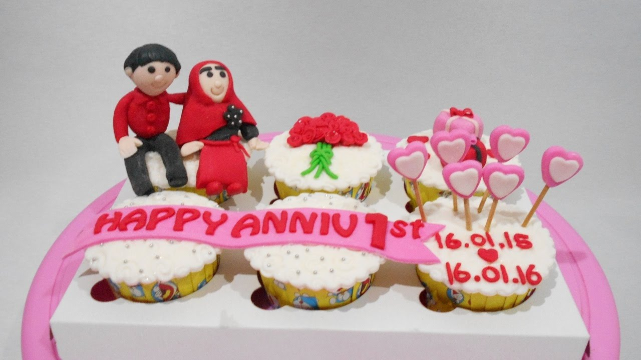 Anniversary Cupcakes Ideas Easy - YouTube