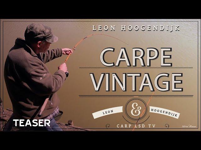 TEASER Carpe Vintage avec Leon Hoogendijk | CARPLSD TV