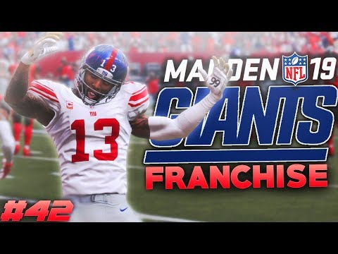 Kicking Trouble in Tampa Bay... Madden 19 New York Giants Franchise Ep. 42