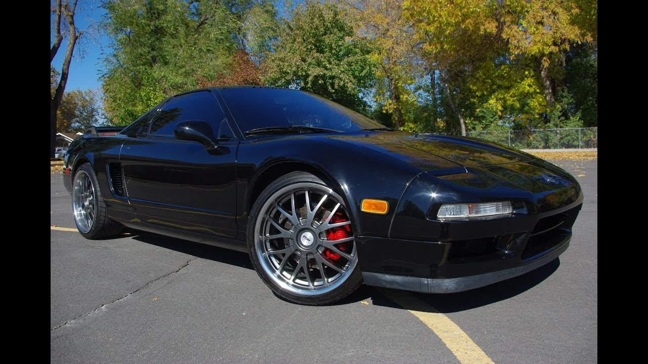 for sale 1991 acura honda nsx black on black 129 908 miles. Black Bedroom Furniture Sets. Home Design Ideas