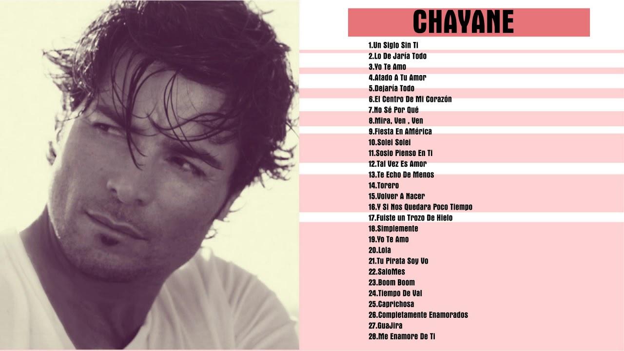 Chayanne Sus Mejores Canciones Romanticas Chayanne Exitos Mix Youtube