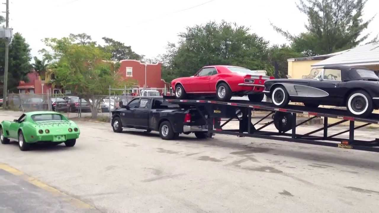 easy import auto reception de 3 classic cars corvette camaro youtube. Black Bedroom Furniture Sets. Home Design Ideas