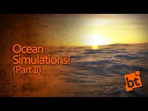 How to simulate an Ocean in Blender (Part 2)