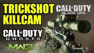 Trickshot Killcam # 894 | BLACK OPS MW3 GHOSTS | Freestyle Replay