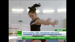 Mustafina back from injury, eyes gymnastics gold in London