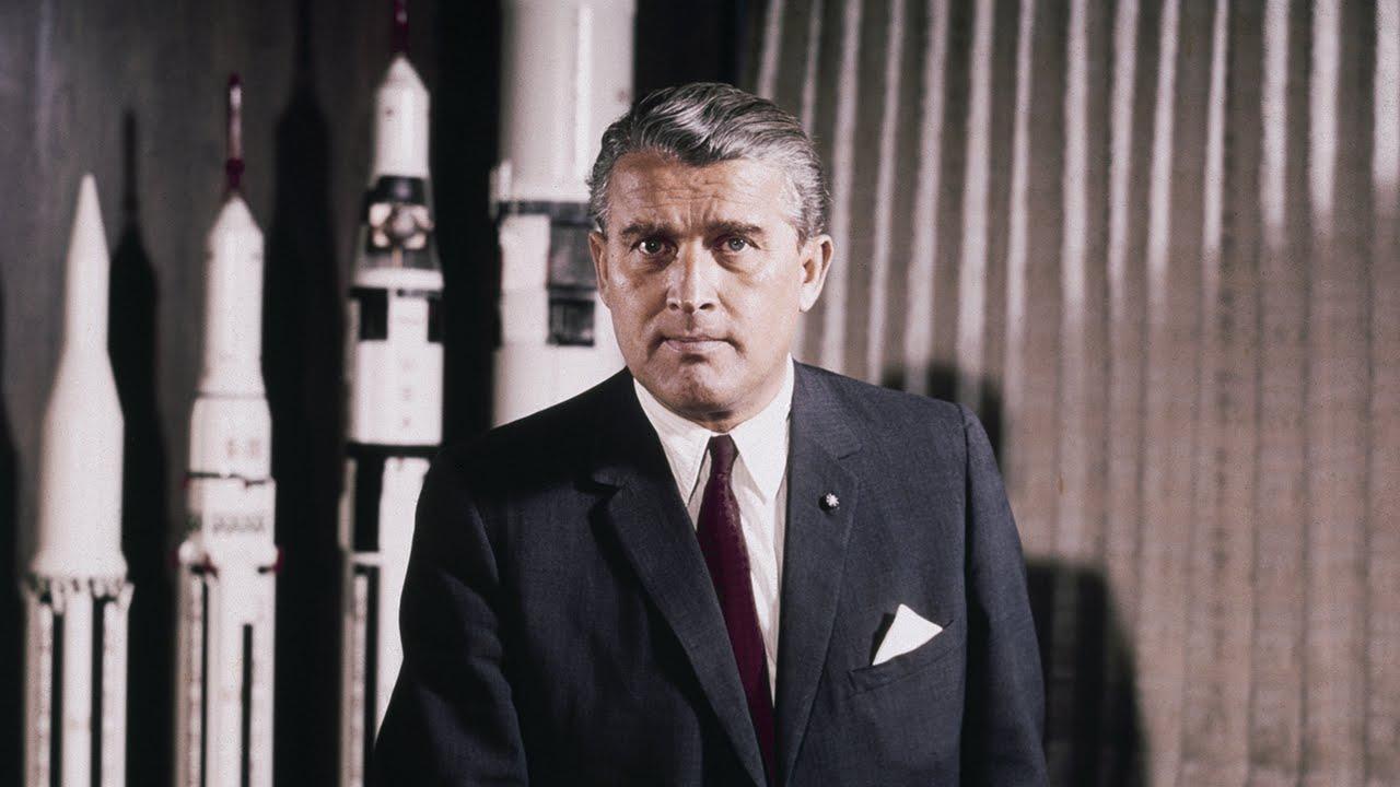 Image result for wernher von braun space race