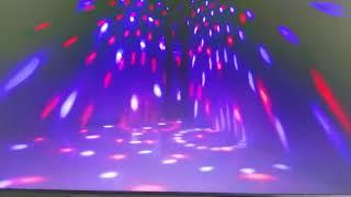 led light disko  multi colors