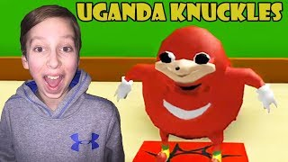 UGANDA KNUCKLES IN ROBLOX!! FUNNIEST VIDEO! | COLLINTV GAMING