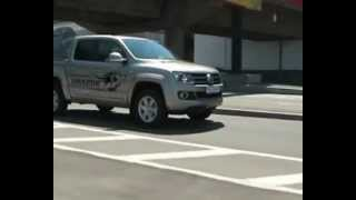 Тест-драйв Volkswagen Amarok в городских условиях