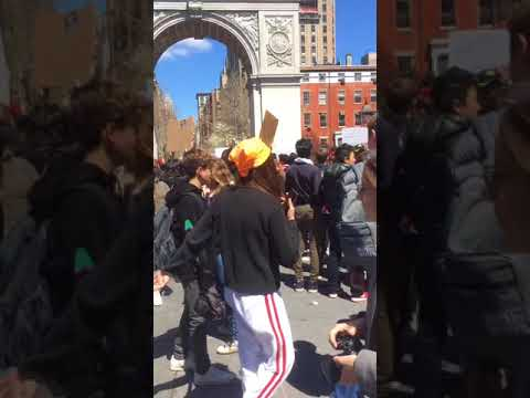 NYC student walkout for gun control