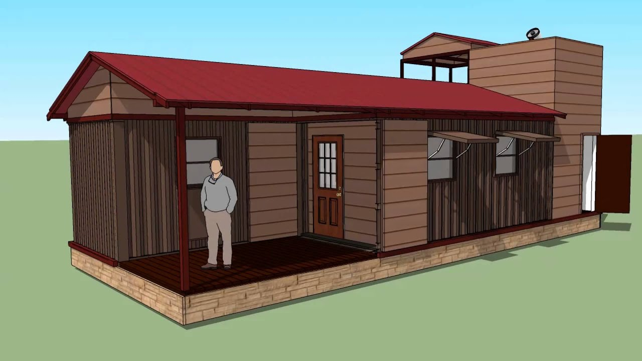 Shipping Container Cabin with Observatory YouTube