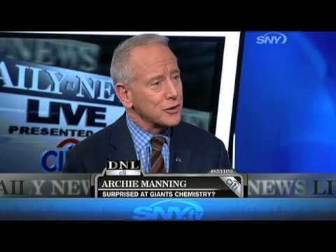 Daily News Live: Archie Manning