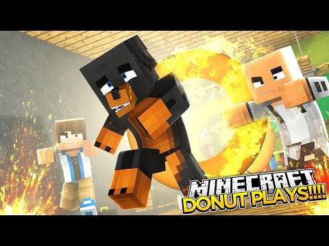 Minecraft - Donut the Dog - RUNNING SCARED!!!!