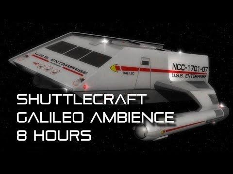 """star-trek:-tos-""""shuttlecraft-galileo""""-background-ambience-*8-hours*"""