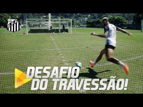 Desafio do Travessão com Rodrygo, Gabriel e Arthur Gomes