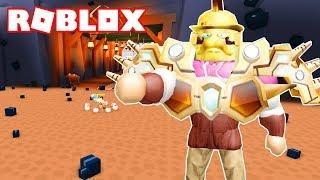 NUEVA ZONA DE ORO Y SOMBRERO GODLY! 📦 Roblox Unboxing Simulator