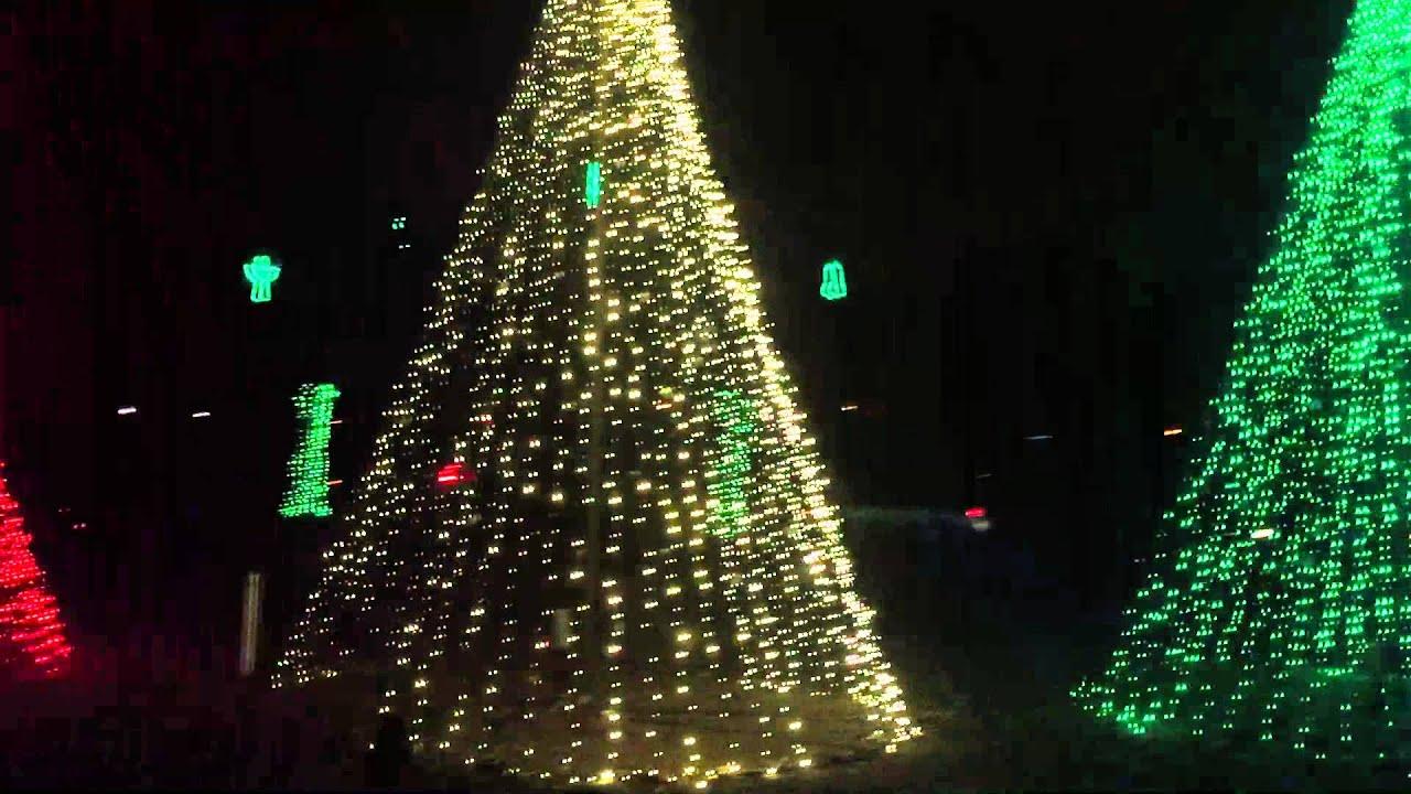Dancing Lights of Christmas 2015: Jingle Bells - YouTube