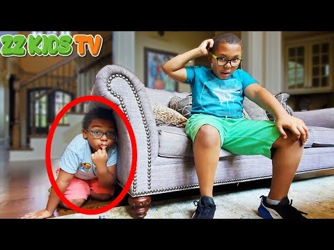 Where Is ZZ Kid? (Family Plays Hide And Seek In House)