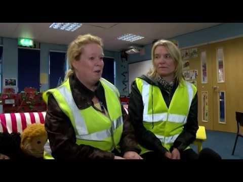 Bramley Primary School Walking Bus on Made in Leeds TV