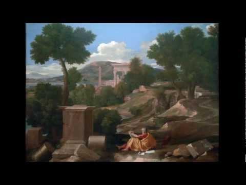 Poussin, Landscape with St. John