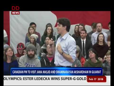 Canadian PM Justin Trudeau begins 7-day India tour