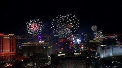Las Vegas Strip & Downtown - New Years Eve 2020 Fireworks Show (Silvester 2019 Feuerwerk Las Vegas)