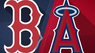 Porcello, offense lead Red Sox past Angels - 4/18/18