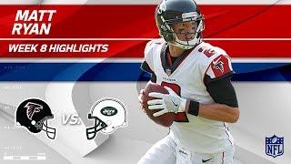 Matt Ryan Tosses 2 TDs & 254 Passing Yards vs. NY! | Falcons vs. Jets | Wk 8 Player Highlights