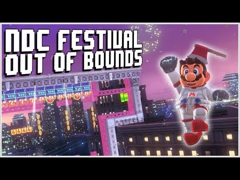 EXPLORING THE NDC FESTIVAL OUT OF BOUNDS!! | Super Mario Modyssey #1