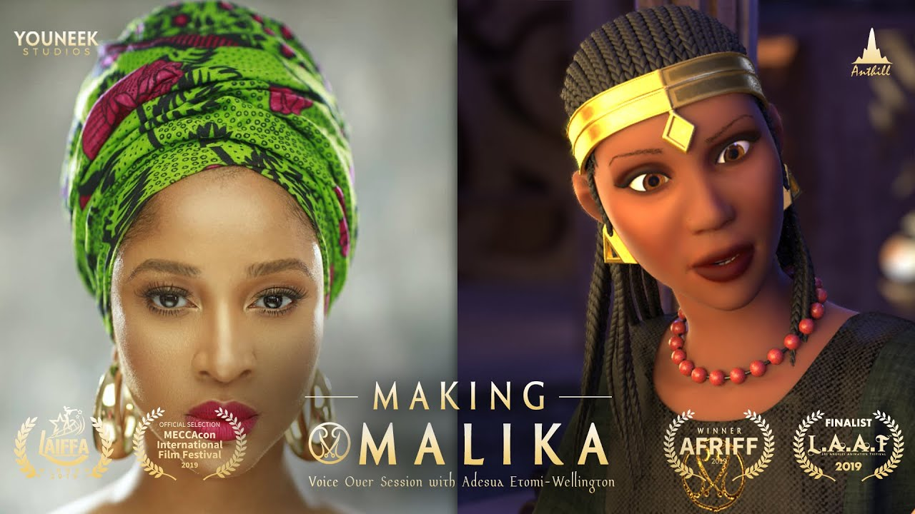 Download Making Malika - Voice Session with Adesua Etomi-Wellington (Voice of Malika)