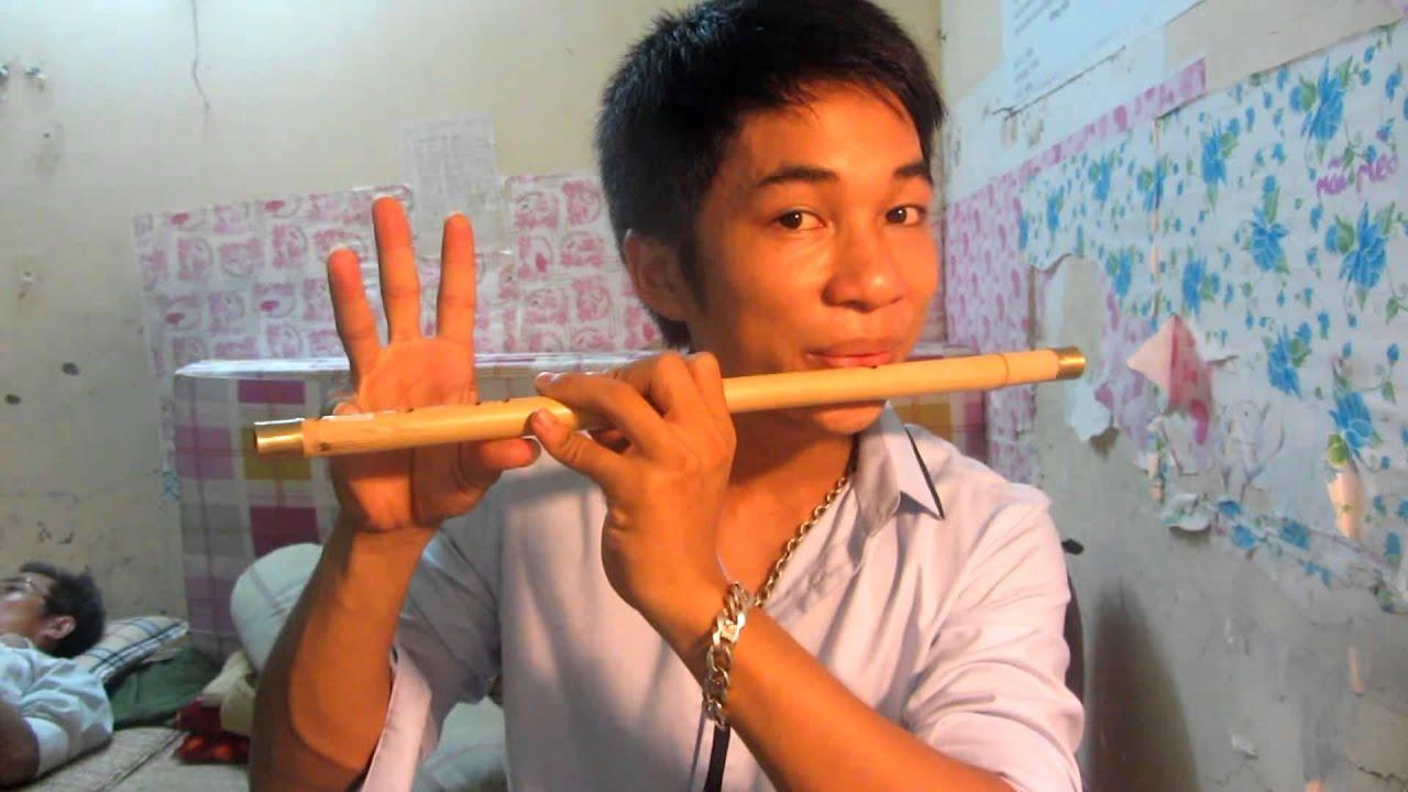 học thổi sáo p1 (cách cầm sáo, đặt môi)