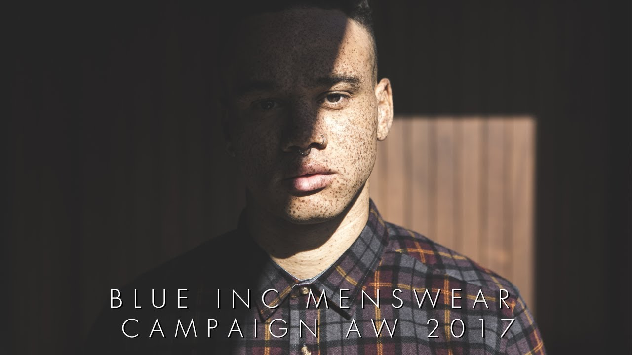 Blue Inc Menswear Campaign Lookbook