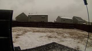 Raleigh NC January 2017 Snow Timelapse