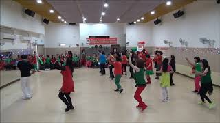My Rules line dance   Line Dance 20181224 Christmas Party dance with Rhoda Lai