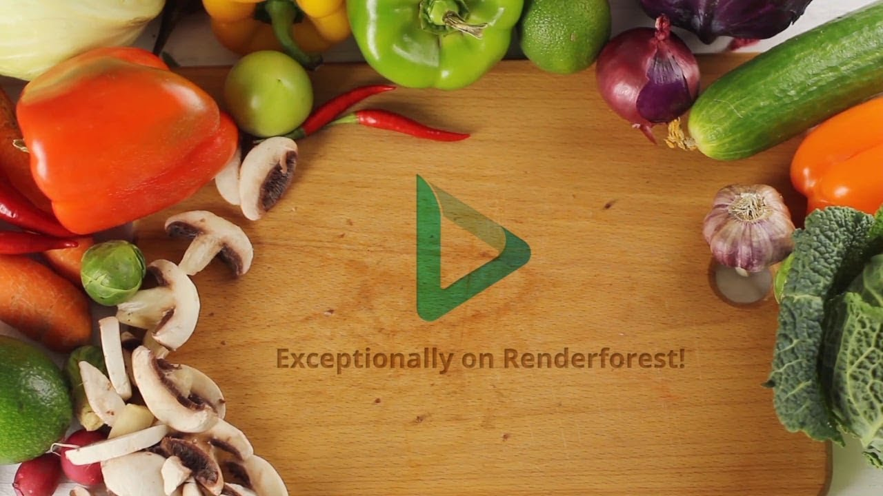 Cooking Video Template
