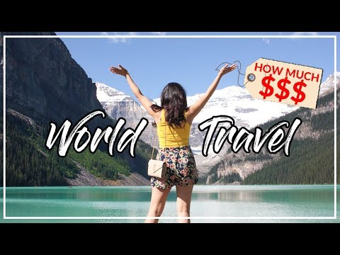 How Much Does it Cost to TRAVEL THE WORLD? 环球旅行花多少钱 | Drone video highlights