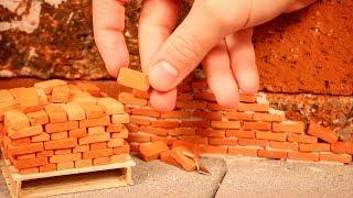 how to make Miniature Bricks for Model House | Small Bricks