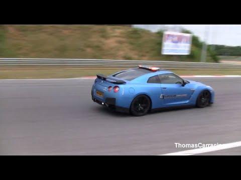 2013 Nissan Gtr Pacecar Supercar Challenge Youtube