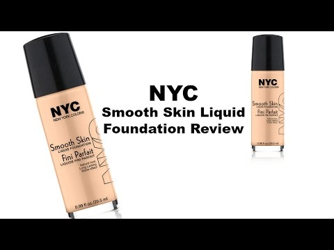 NYC Smooth Skin Liquid Foundation Review! EEP! | Princess & the Polish