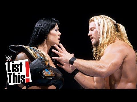Women who won men\'s titles: WWE List This!