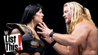 Women who won men's titles: WWE List This!