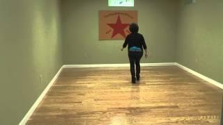 Linedance Lesson Bailia Samba Conmigo  Choreo. Ira Weisburd Music Baila Baila by Angela Via