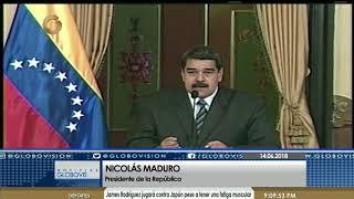 Nicolás Maduro: Tenemos el poder moral y político para vencer todas las adversidades
