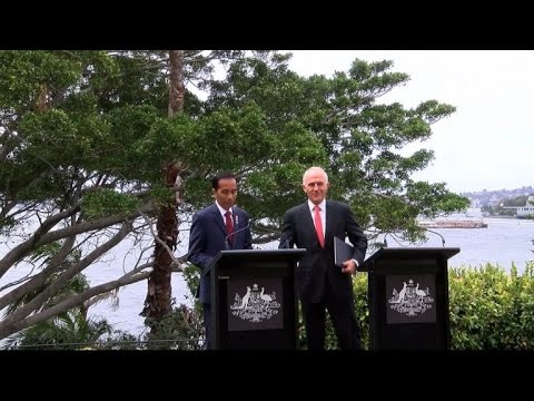 Australia-Indonesia restore full military ties
