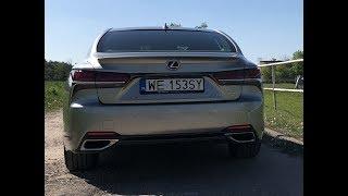 Lexus LS 500 w Polsce test PL Pertyn Ględzi