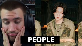 Download lagu HE is SO RIGHT! Agust D - People / D-2 - Reaction