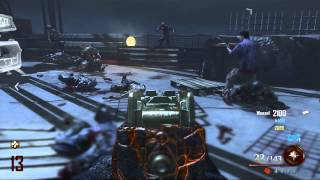 Black Ops 2 Uprising DLC: Mob Of The Dead Golden Gate Bridge Gameplay
